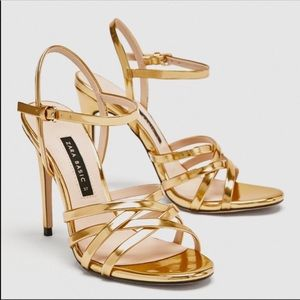 Zara High Heel Sandals NEW
